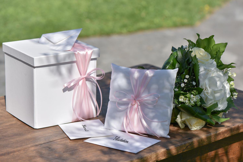 Briefbox Kartenbox Hochzeit Kommunion Geldgeschenke Basteln Weiß