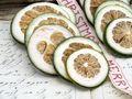 50 Limettenscheiben Limette Limone Grün Getrocknet Weihnachten Adventskranz Duft Deko 3