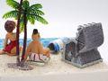 Geldgeschenk Verpackung Geldverpackung Strandkorb Urlaub Reise Strand Geburtstag Hochzeit  7