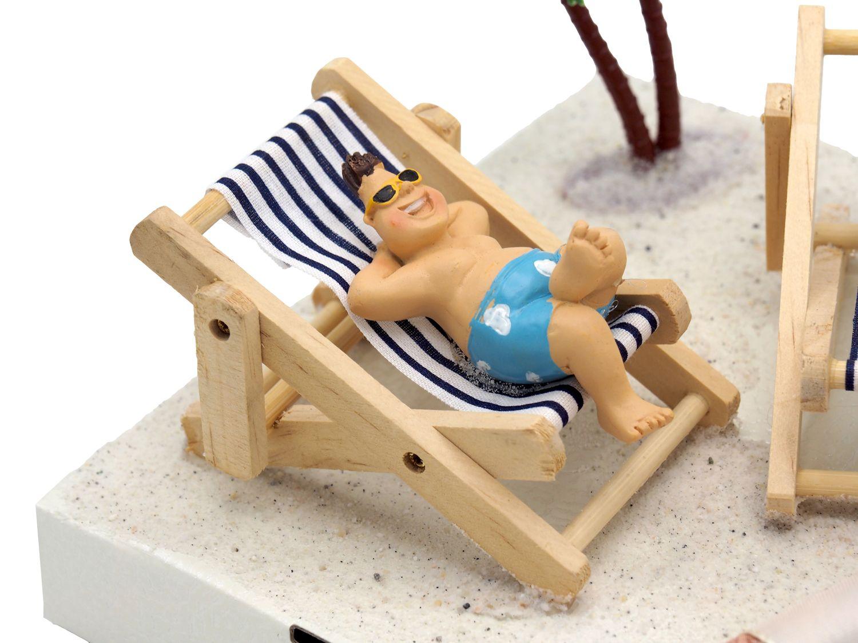 Geldgeschenk Verpackung Geldverpackung Urlaub Reise Strand Geburtstag Hochzeit Silberhochzeit Goldhochzeit Liegestuhl