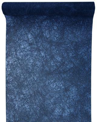 5m Tischläufer Vlies Dunkelblau Blau