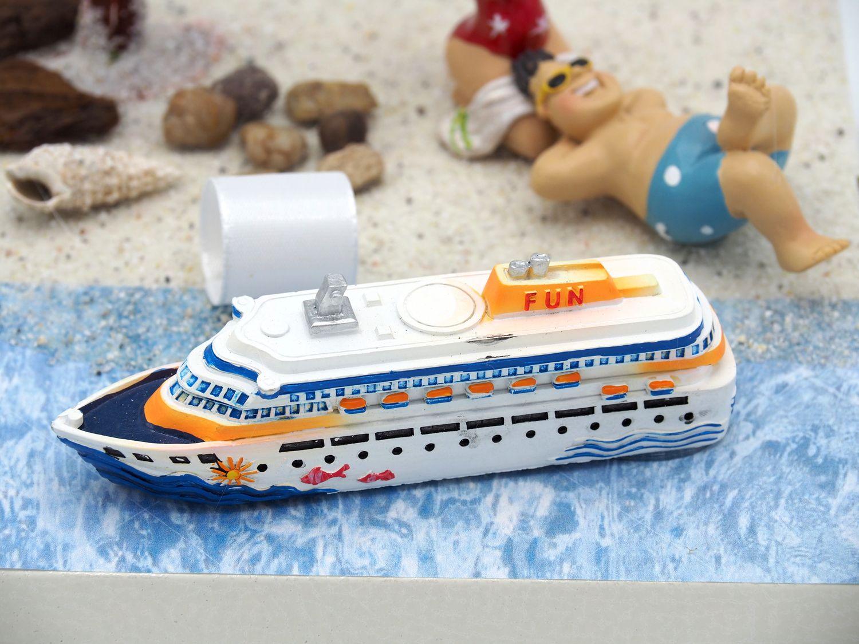 Geldgeschenk Verpackung Kreuzfahrt Kreuzfahrtschiff Karibik Geldverpackung Urlaub Reise Weihnachten