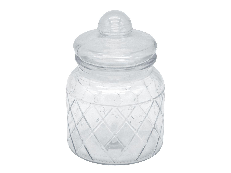Vorratsglas 16cm Glasdose Aufbewahrungsglas Gewürzglas Deko Glas Aufbewahrung Küche