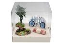 Geldgeschenk Verpackung Fahrrad Blau Geldverpackung Gutschein Weihnachten  2