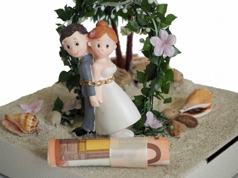 Geldgeschenk Verpackung Geldverpackung Hochzeitsreise Hochzeit Geschenk