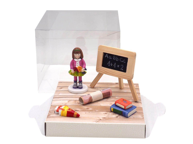 Geldgeschenk Verpackung Geldverpackung Geschenk Schulanfang Schule Einschulung Mädchen Schultüte