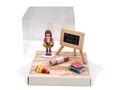 Geldgeschenk Verpackung Schulanfang Schule Einschulung Mädchen 001
