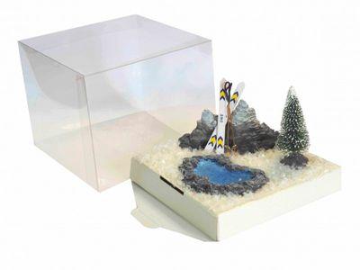 Geldgeschenk Verpackung Skiurlaub