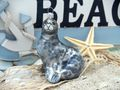 Seehund Robbe Christbaumschmuck Baumschmuck Weihnachten Kugel Maritim Deko 2