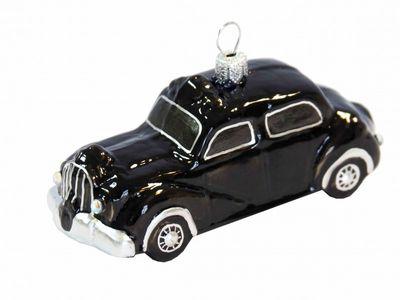 Black Cab Taxi Christbaumschmuck
