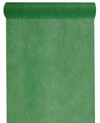 10m Tischläufer Vlies Dunkelgrün Grün