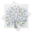 Servietten Baum des Lebens Grün Blau Grau Tischdeko Konfirmation Kommunion Lebensbaum 20 Stück 1