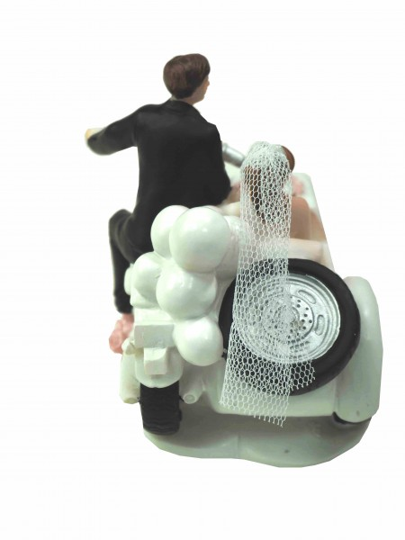 tortendeko motorrad mit beiwagen just married tischdeko hochzeit tortenaufsatz 4251068606598 ebay. Black Bedroom Furniture Sets. Home Design Ideas