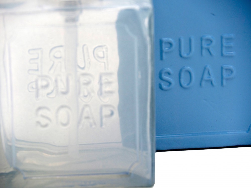 2 Seifenspender Glas Dekoration Badezimmer Küche Geschenk