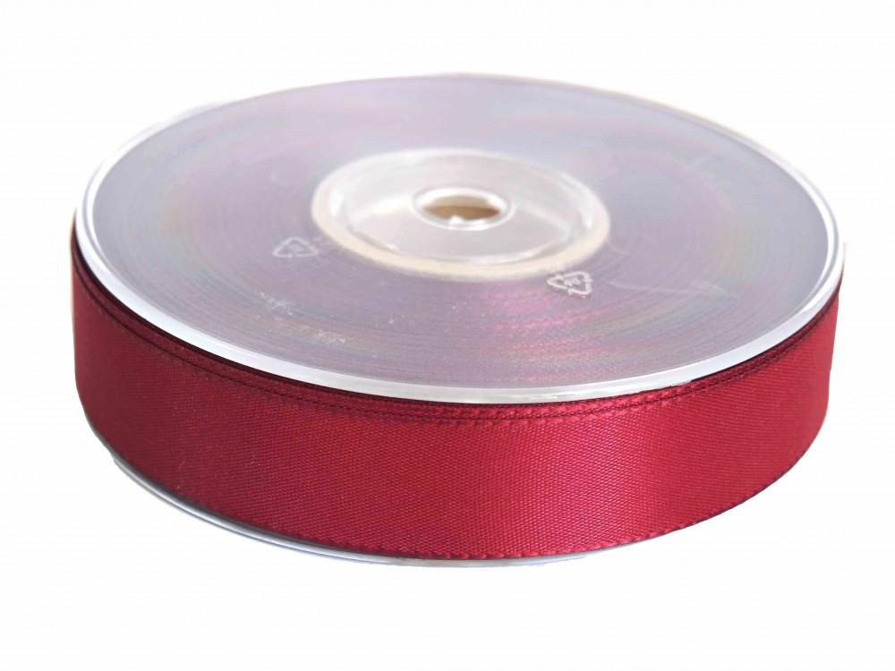 50m 25mm Taftband Dekoband Weiß Creme Blau Grün Rosa Bordeaux Rot Basteln
