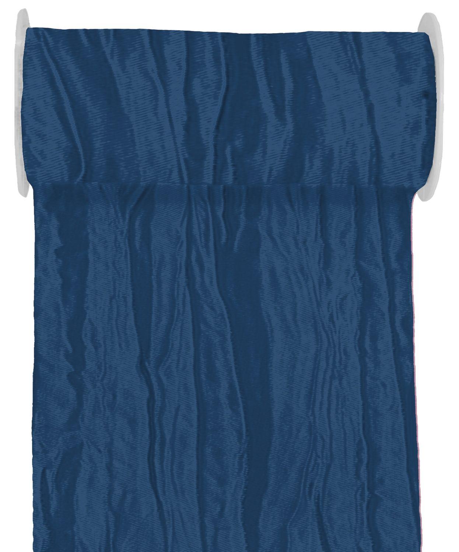10m Fripe Taft 200mm Tischläufer Hellblau Blau Petrol Flieder Tischdeko Kommunion Konfirmation