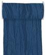10m Fripe Taft 200mm Tischläufer Hellblau Blau Petrol Flieder Tischdeko Kommunion Konfirmation 4