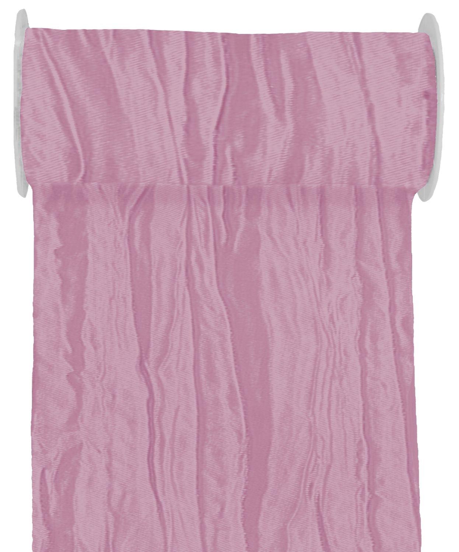 10m Fripe Taft 200mm Tischläufer Rosa Mauve Pflaume Altrosa Tischdeko Tischdeko Hochzeit Taufe Kommunion Konfirmation