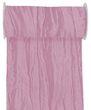 10m Fripe Taft 200mm Tischläufer Rosa Mauve Pflaume Altrosa Tischdeko Tischdeko Hochzeit Taufe Kommunion Konfirmation 2