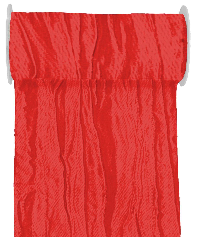 10m Fripe Taft 200mm Tischband Rot Bordeaux Hellgrün Grün Kommunion Konfirmation Hochzeit Tischdeko