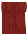 10m Fripe Taft 200mm Tischband Rot Bordeaux Hellgrün Grün Kommunion Konfirmation Hochzeit Tischdeko 3