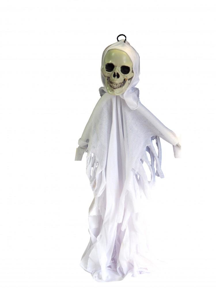 Partydeko Halloween Totenkopf Geist Gespenst
