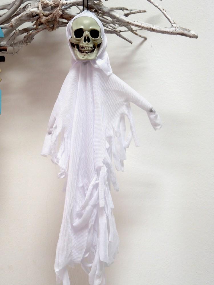 Totenkopf Geist Gespenst Halloween Party Deko Karneval