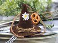 10x Filzhut Hut Oktoberfest Braun Bayrisch Tischdeko Party Streudeko 5