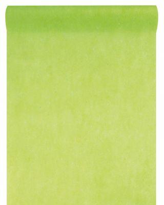 10m Tischläufer Vlies Hellgrün Grün