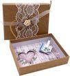 Geldgeschenk Verpackung Geldverpackung Natur Vintage Hochzeit Urlaub 2