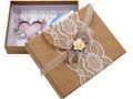 Geldgeschenk Verpackung Geldverpackung Natur Vintage Hochzeit Urlaub 1