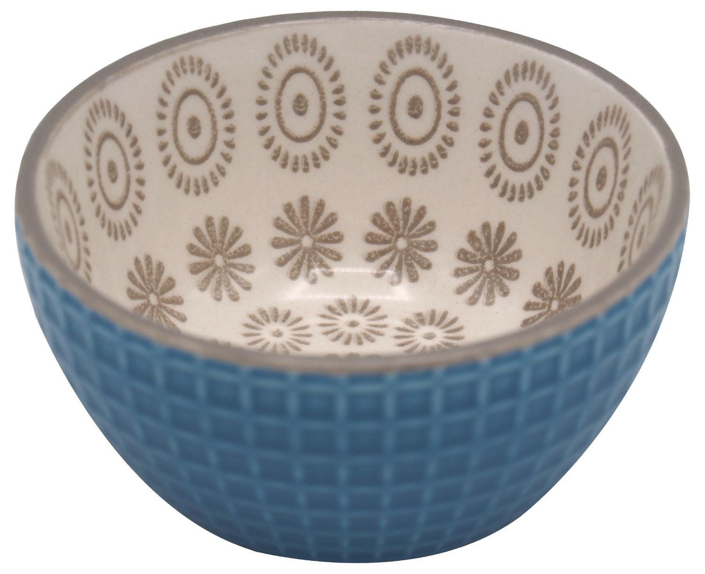 Schüssel XS Dipschale Mint Weiß Blau Servierschale Schale
