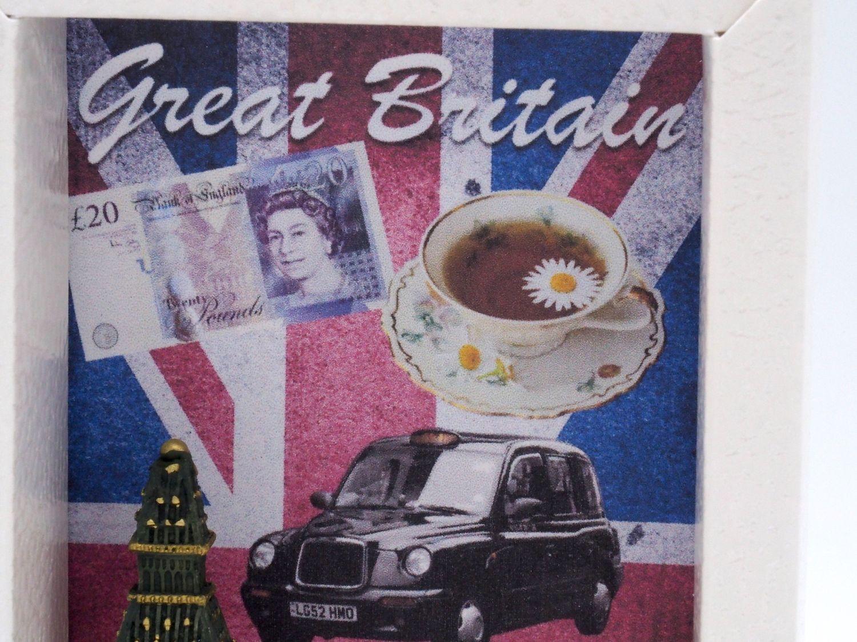 Geldgeschenk Verpackung Urlaub Great Britain England Geschenk Geburtstag