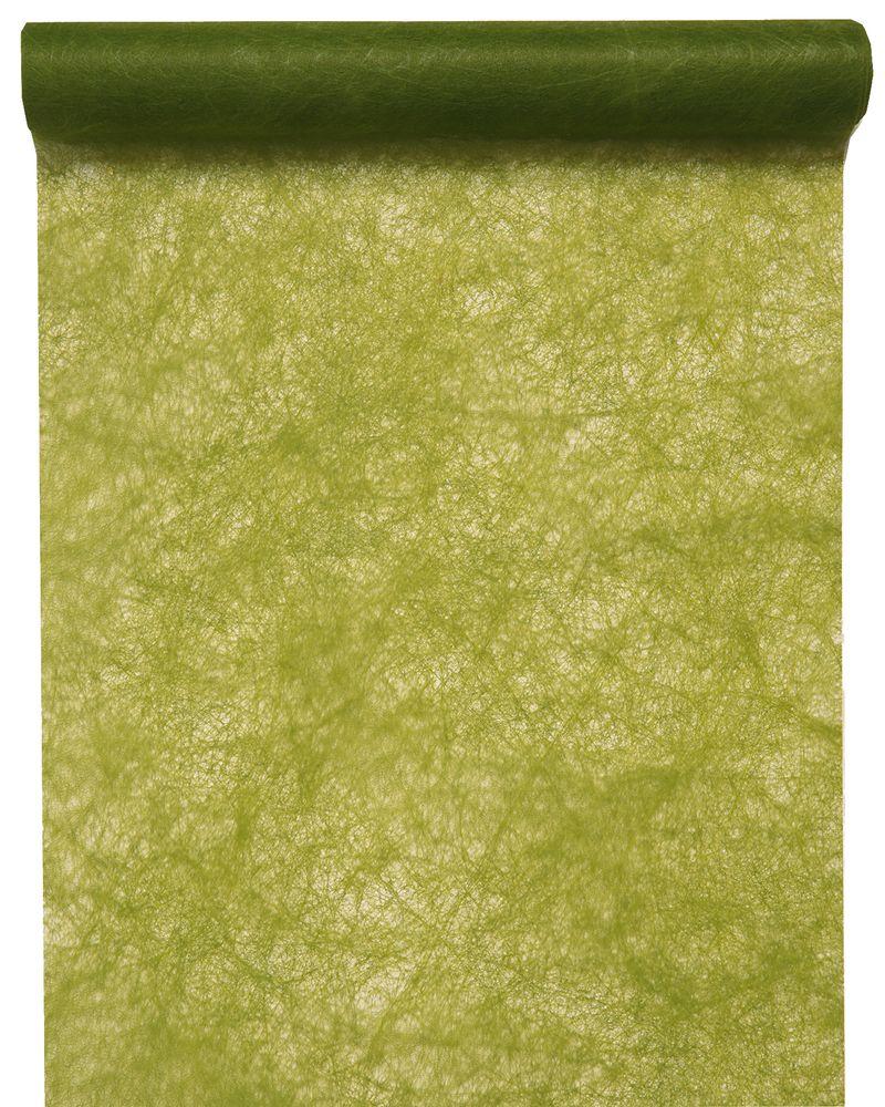 tischl ufer gr n vlies lindgr n moosgr n oliv 5m hochzeit. Black Bedroom Furniture Sets. Home Design Ideas