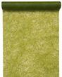 Tischläufer Grün Vlies Lindgrün Moosgrün Oliv 5m 001