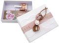 Geldgeschenk Verpackung Weiß Rosa Vintage Hochzeit Hochzeitsreise Geburtstag MARINA 1