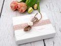 Geldgeschenk Verpackung Weiß Rosa Vintage Hochzeit Hochzeitsreise Geburtstag MARINA 8
