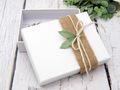 Geldgeschenk Verpackung Vintage Jute Blatt Hochzeit Geburtstag Geschenkidee 6