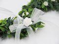Herz Kranz Weiß Türschmuck Hochzeit Frühling Deko Fensterschmuck Dekoherz 2