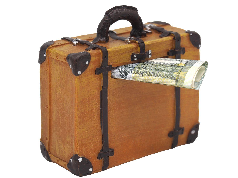 Spardose Koffer Reisekoffer Geldkoffer Urlaub