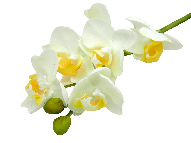 Orchidee Zweig Kunstblume Deko Bastelstubchen Girlanden Kunstblumen