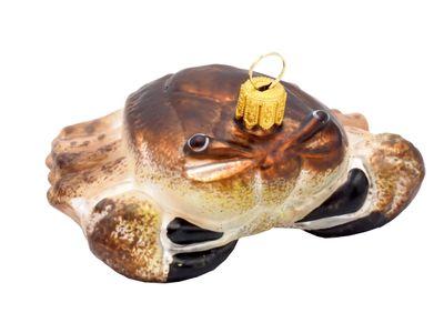 Krabbe Krebs Christbaumschmuck Glas Weihnachten