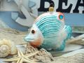 Falterfisch Fisch Christbaumschmuck Weihnachten Glas Weihnachtsbaumschmuck 3
