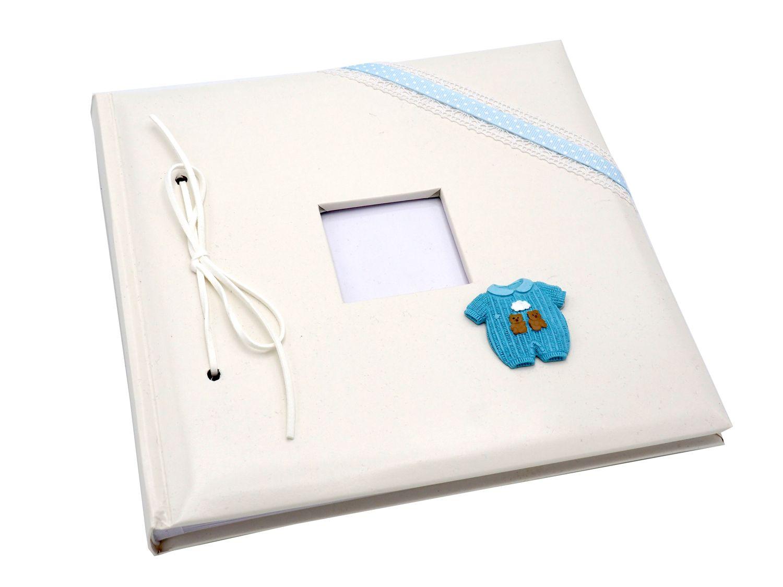 Gästebuch Album Fotoalbum Erinnerungsalbum Geburt Taufe Rosa Blau Mädchen Junge Baby