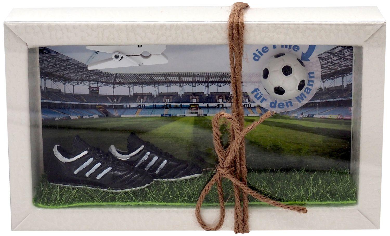 Geldgeschenk Verpackung Geldverpackung Gutschein Fußball Mann Sport