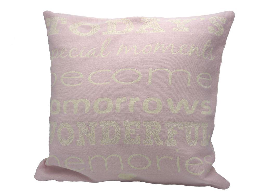 kissenh lle kissenbezug rosa mint deko wohnen sommer pastell ebay. Black Bedroom Furniture Sets. Home Design Ideas