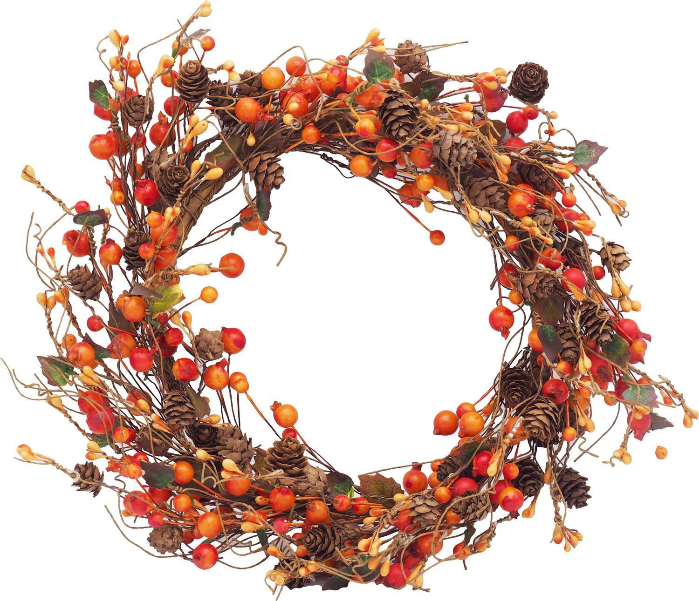 Beerenkranz Türschmuck Kranz Türdeko Deko Weihnachten Fensterdeko Herbst