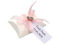 10x Gastgeschenk Fisch mit Namen Bedruckt Rosa Personalisiert Taufe Kommunion Konfirmation 2