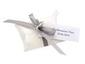 10x Gastgeschenk Fisch mit Namen Bedruckt Grau Weiß Personalisiert Taufe Kommunion Konfirmation 22