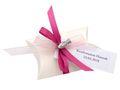 10x Gastgeschenk Fisch mit Namen Bedruckt Pink Personalisiert Taufe Kommunion Konfirmation 23